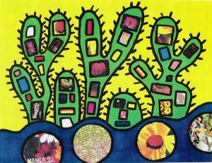 Cactus City Landscape