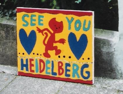 Leinwandbild von Heidelberg