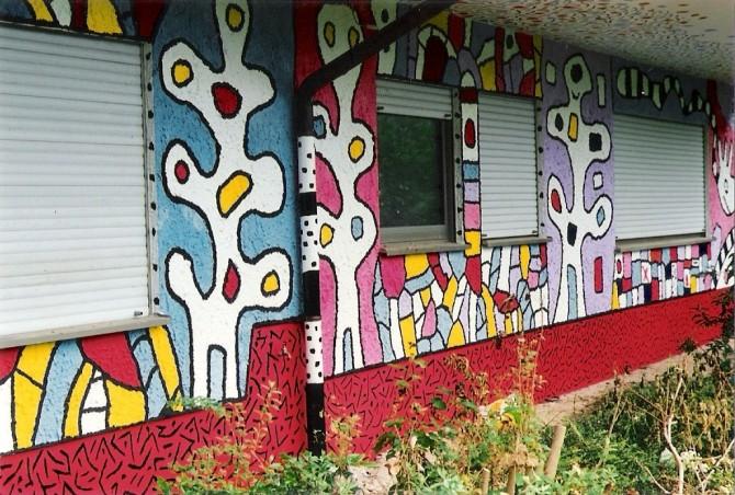 Kreative Hausbemalung